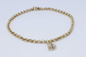 Rosé gold bracelet