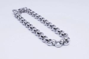 Silver rolò bracelet