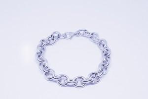 Bracciale catena in argento