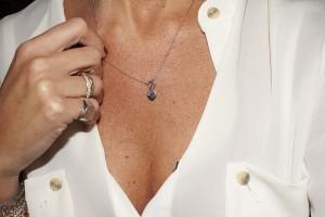 Collana in argento collezione Logo